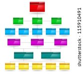 color empty diagram.... | Shutterstock .eps vector #115910491