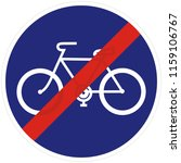 bicycle trail  path  road sign  ...   Shutterstock .eps vector #1159106767