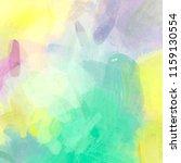 adorable soft colored digital... | Shutterstock . vector #1159130554