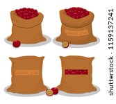 vector illustration for bags... | Shutterstock .eps vector #1159137241