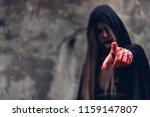 Portrait Woman Ghost Devil She...