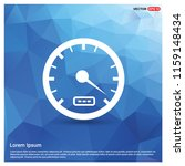 speedometer icon   free vector... | Shutterstock .eps vector #1159148434