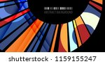 abstract colorful background... | Shutterstock .eps vector #1159155247