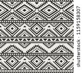 seamless ethnic and tribal...   Shutterstock .eps vector #1159158307
