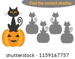 find the correct shadow ... | Shutterstock .eps vector #1159167757