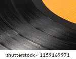 close up of a black retro... | Shutterstock . vector #1159169971