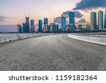empty asphalt road through... | Shutterstock . vector #1159182364