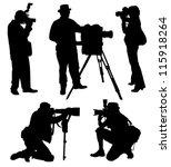 Photographer Silhouette On...