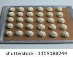 butter cookies with milk | Shutterstock . vector #1159188244