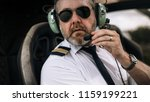 Mature Male Helicopter Pilot...