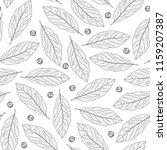 spice pattern. hand drawn... | Shutterstock .eps vector #1159207387