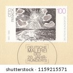 germany circa 1993 a stamp... | Shutterstock . vector #1159215571