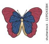 butterfly cartoon drawing ...   Shutterstock .eps vector #1159243384