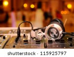 dj mixes tracks | Shutterstock . vector #115925797