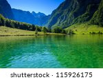 Green Water Of Konigsee...