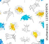 vector seamless pattern with... | Shutterstock .eps vector #1159295974