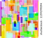 background of abstract squares | Shutterstock .eps vector #1159299094
