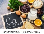 Food With Calcium. A Variety O...