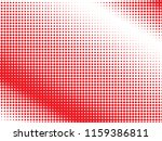 red halftone dots. colorful...   Shutterstock .eps vector #1159386811