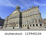 Royal Palace At The Dam Square  ...