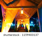 the wedding entrance of indian... | Shutterstock . vector #1159403137