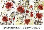 collection of designer oil... | Shutterstock . vector #1159404577