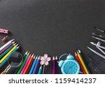 education  back to school... | Shutterstock . vector #1159414237