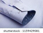 sleeve of a luxury shirt. close ... | Shutterstock . vector #1159429081