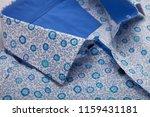 classic men's shirt collar... | Shutterstock . vector #1159431181