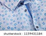 classic men's shirt collar... | Shutterstock . vector #1159431184