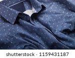 classic men's shirt collar... | Shutterstock . vector #1159431187
