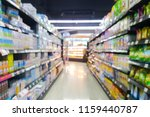 abstract blur product  shelf in ... | Shutterstock . vector #1159440787