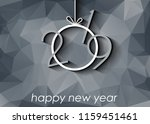 2019 happy new year background... | Shutterstock . vector #1159451461