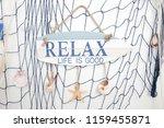 sea decoration background | Shutterstock . vector #1159455871