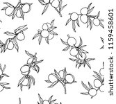 vector seamless pattern with... | Shutterstock .eps vector #1159458601