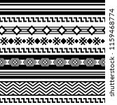 ethnic boho tribal indian... | Shutterstock .eps vector #1159468774