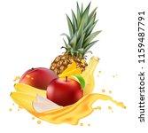 vector ads 3d promotion banner  ... | Shutterstock .eps vector #1159487791