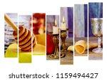 rosh hashanah jewish new year... | Shutterstock . vector #1159494427