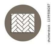 parquet icon in badge style.... | Shutterstock .eps vector #1159508287