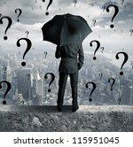 concept of businessman...   Shutterstock . vector #115951045