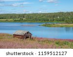 view from pajala in northern... | Shutterstock . vector #1159512127