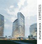 3d business building | Shutterstock . vector #115952221