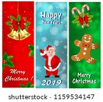 a set of greeting cards for the ...   Shutterstock .eps vector #1159534147