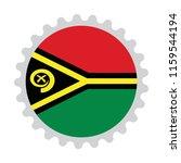 flag stamp button map of vanuatu | Shutterstock .eps vector #1159544194