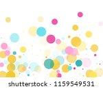 memphis round confetti vintage... | Shutterstock .eps vector #1159549531
