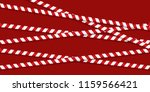 red and white lines of barrier... | Shutterstock .eps vector #1159566421