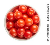 fresh ripe tomatoes in ceramic... | Shutterstock . vector #1159636291