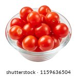 fresh ripe tomatoes in glass... | Shutterstock . vector #1159636504