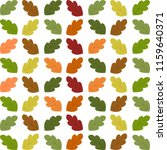 autumn vector pattern with... | Shutterstock .eps vector #1159640371