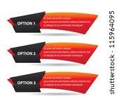 vector paper progress... | Shutterstock .eps vector #115964095